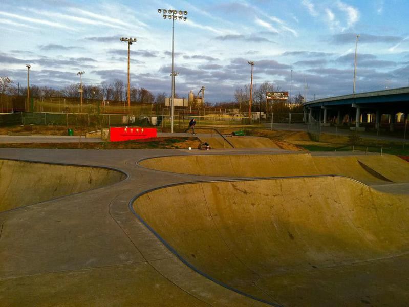 Knoxville Skatepark in Knoxville, Tennessee