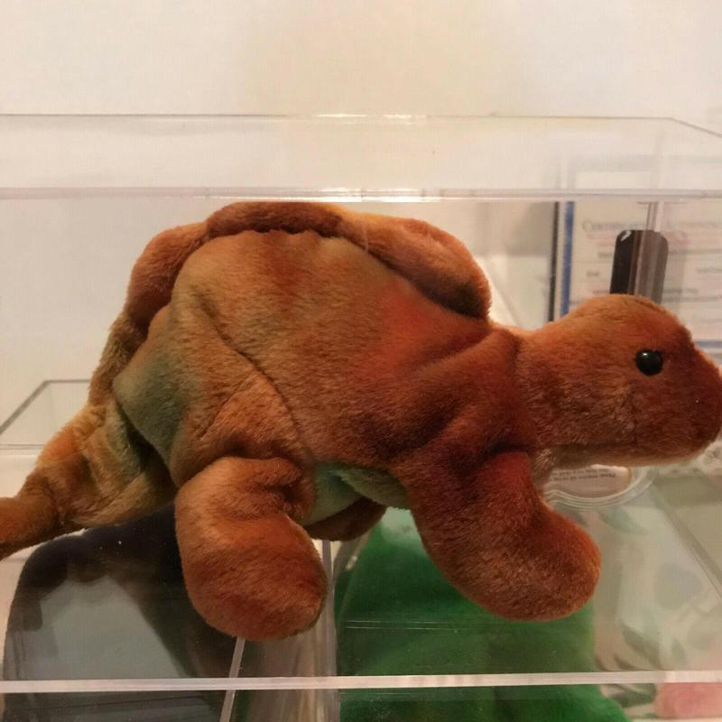 Steg the Stegosaurus Beanie Baby