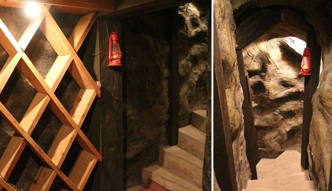 Wayne Newton's wine cellar