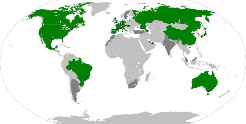 Formula One Map