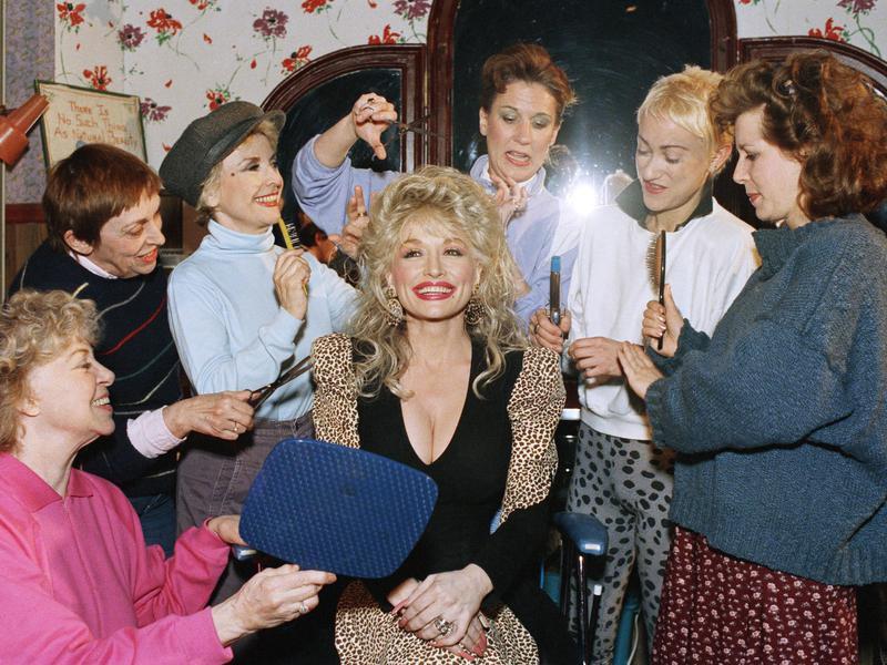 Dolly Parton, Elizabeth Moore, Mary Fogarty, Rosemary Prinz, Susan Masur, Connie Shulman, Betsey Aidem