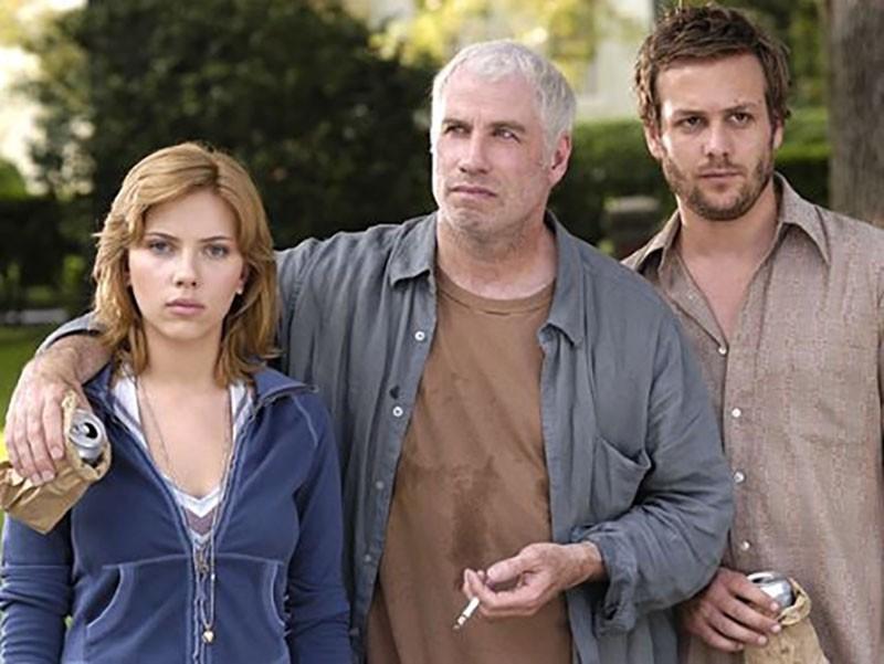 John Travolta, Scarlett Johansson and Gabriel Macht