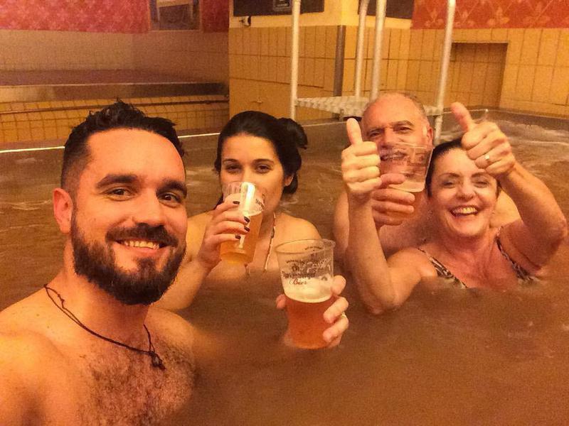 Starkenberger Brewery beer pool