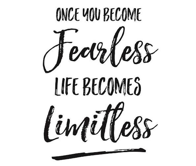 Don't believe in limits