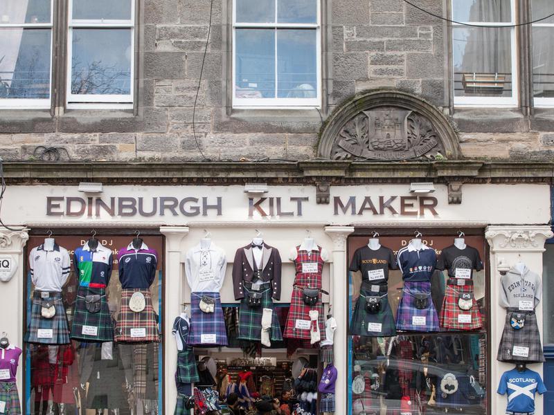 Edinburgh Tartan Shops