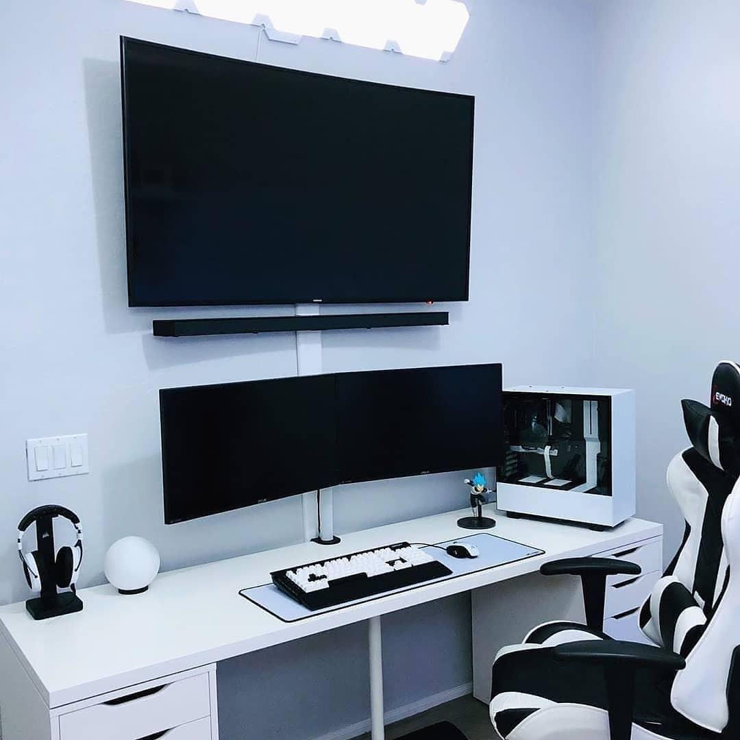 Minimalist work station