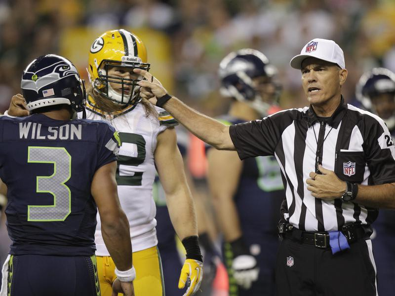 Russell Wilson and Clay Matthews
