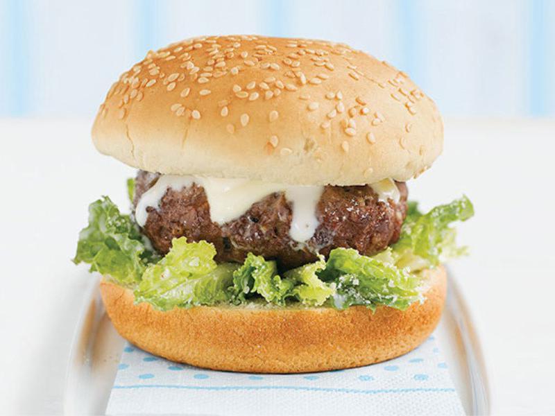 Burger Topping Ideas: Caesars Dressing