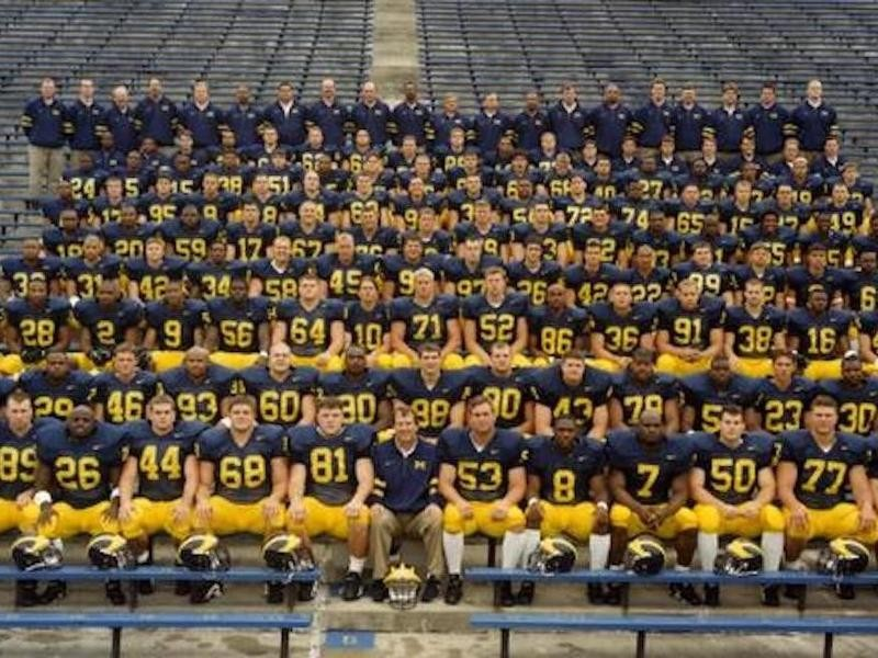 Michigan's 1997 national championship team