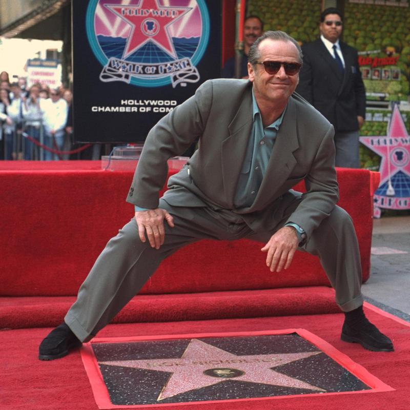 Jack Nicholson's Star