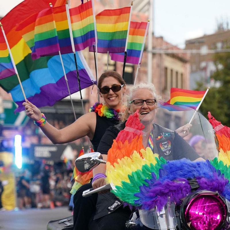Participants in Sydney Day and Lesbian Mardi Gras