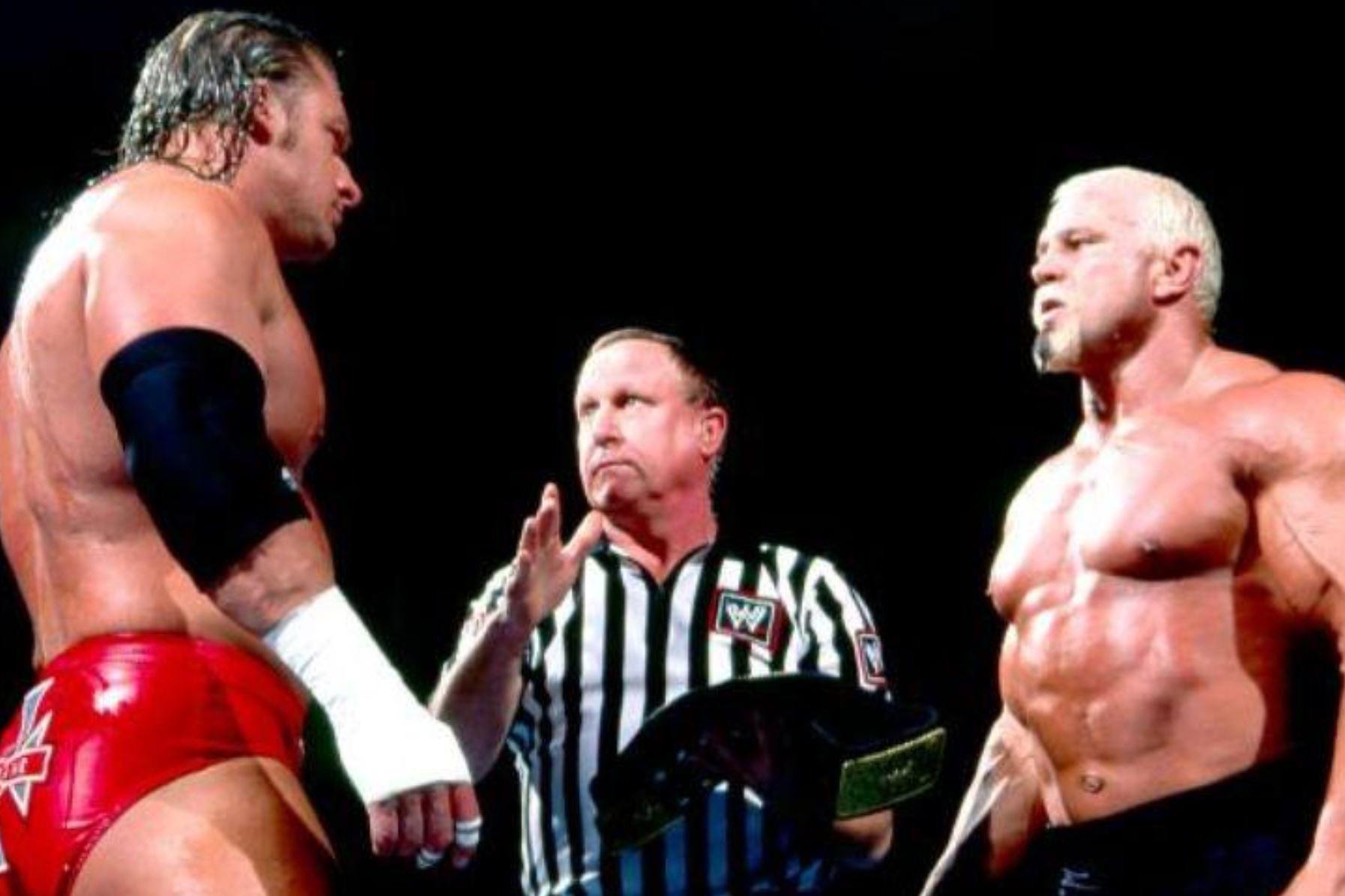 Scott Steiner Vs. Triple H