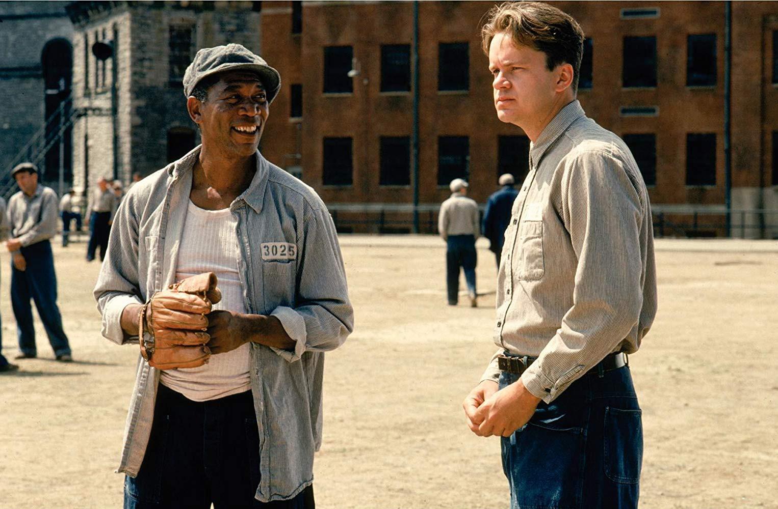 Morgan Freeman and Tim Robbins