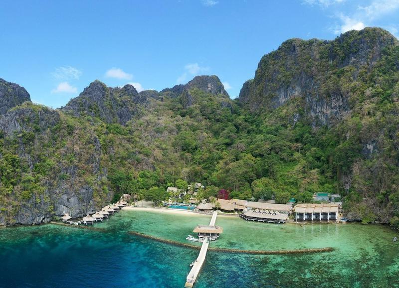 Luxury eco resort in the Philippines