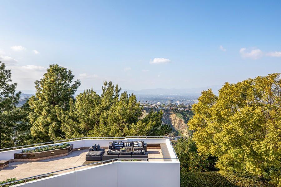 Pharrell Williams' rooftop deck