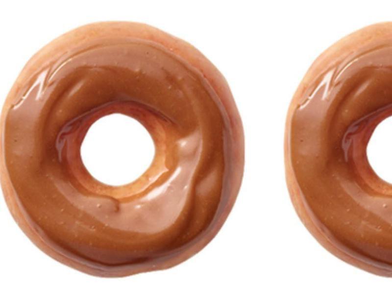 Maple Iced Glazed Krispy Kreme
