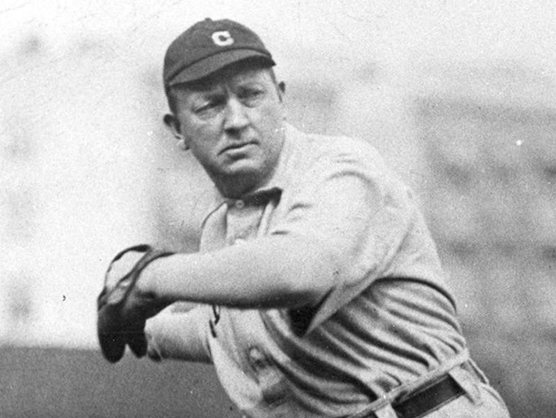 Cleveland Spiders pitcher Cy Young