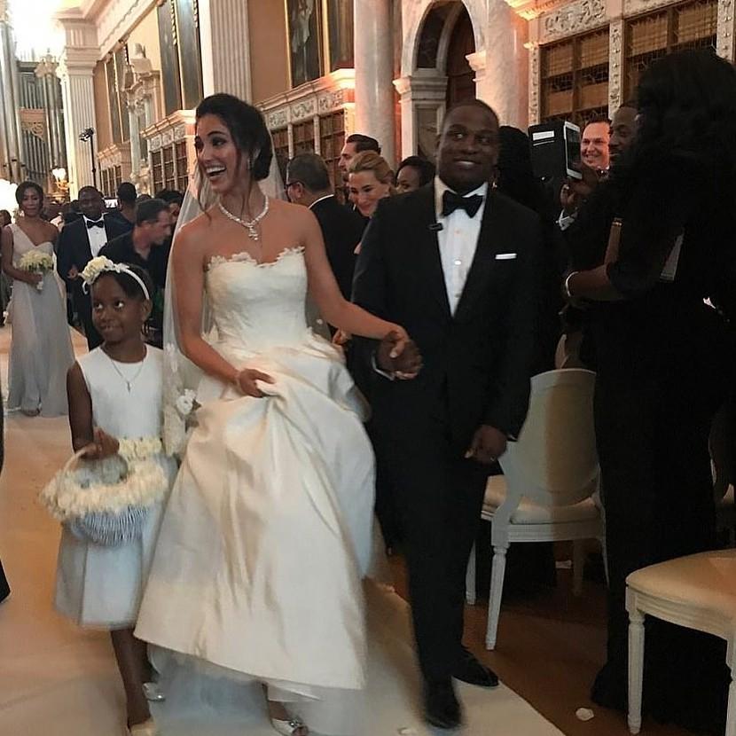 Folarin Alakija and Nazanin Jafarian Ghaissarifar's wedding