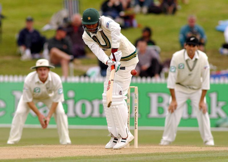 Abdul Razzaq turns ball to leg side