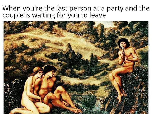 Socially awkward meme