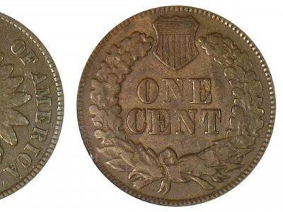 1872 Indian Head Cent (Shallow N)