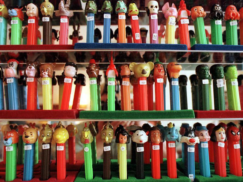 PEZ dispensers