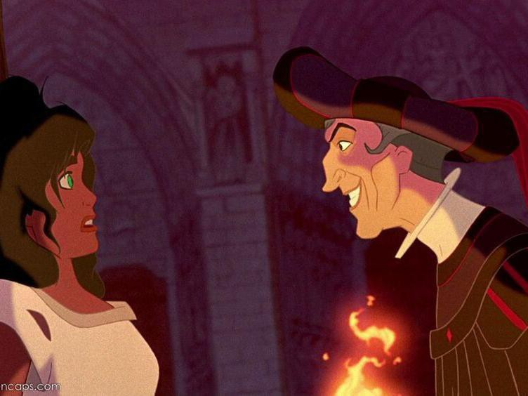 Claude Frollo in The Hunchback of Notre Dame