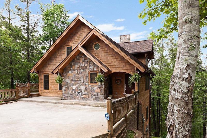 Mountain home in Gatlinburg, Tennessee