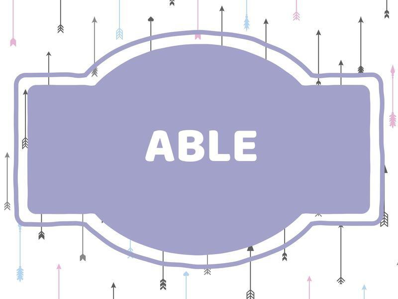 Unique Baby Boy Names: Able