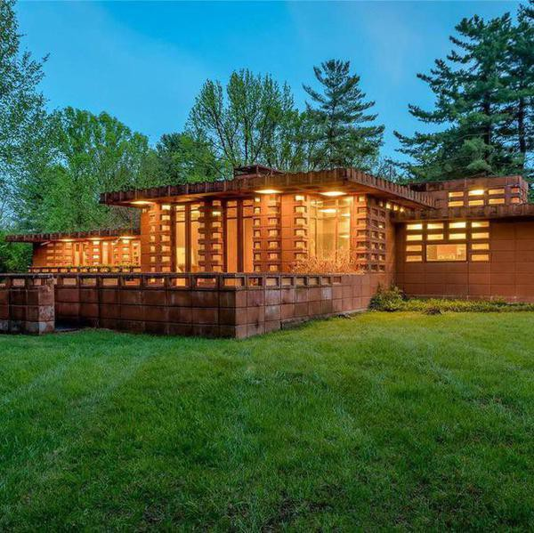Rare $1.1 Million Frank Lloyd Wright House for Sale Near St. Louis