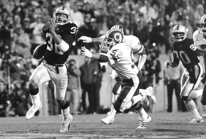 Marcus Allen in Super Bowl XVIII