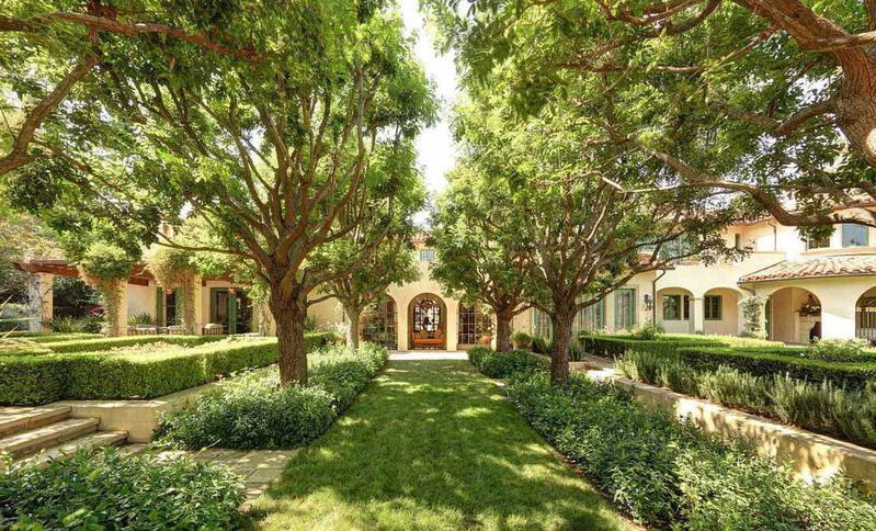 Dwayne Johnson's house in Beverly Hills