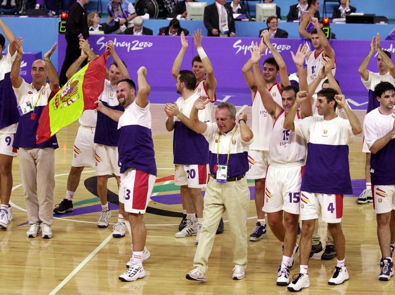 2000 Spain Paralympics Basketball Team