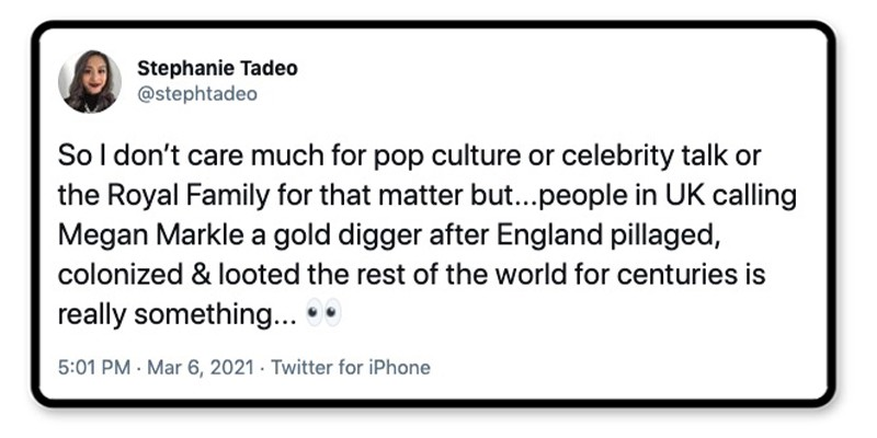 Who are you calling a gold digger?