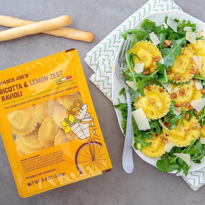 Lemon Zest Ravioli