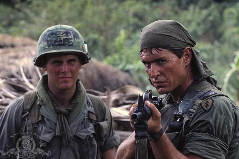 Sgt. Barnes in platoon