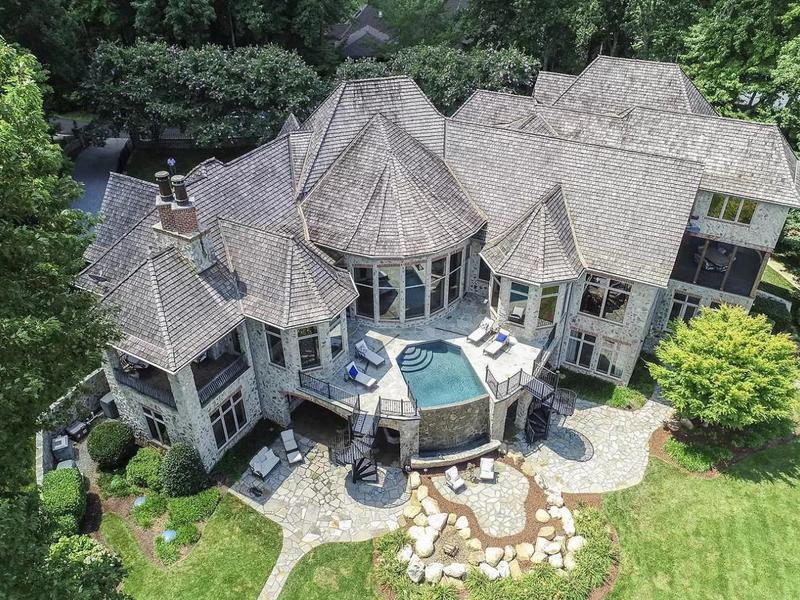 Kurt Busch's former house in Mooresville, North Carolina