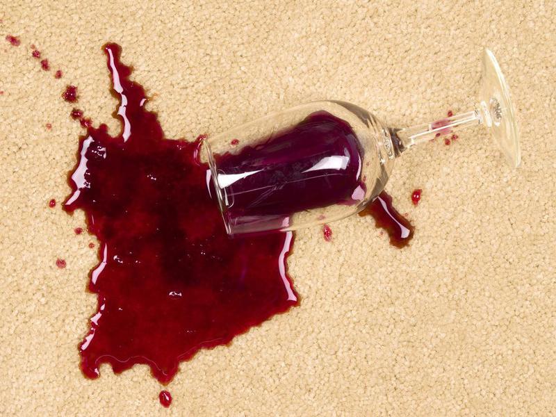Soak Up Wine Spills With Salt