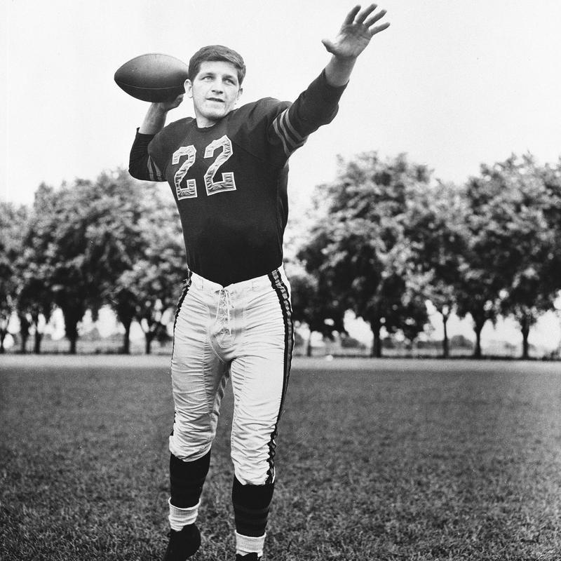 George Blanda for the Oakland Raiders