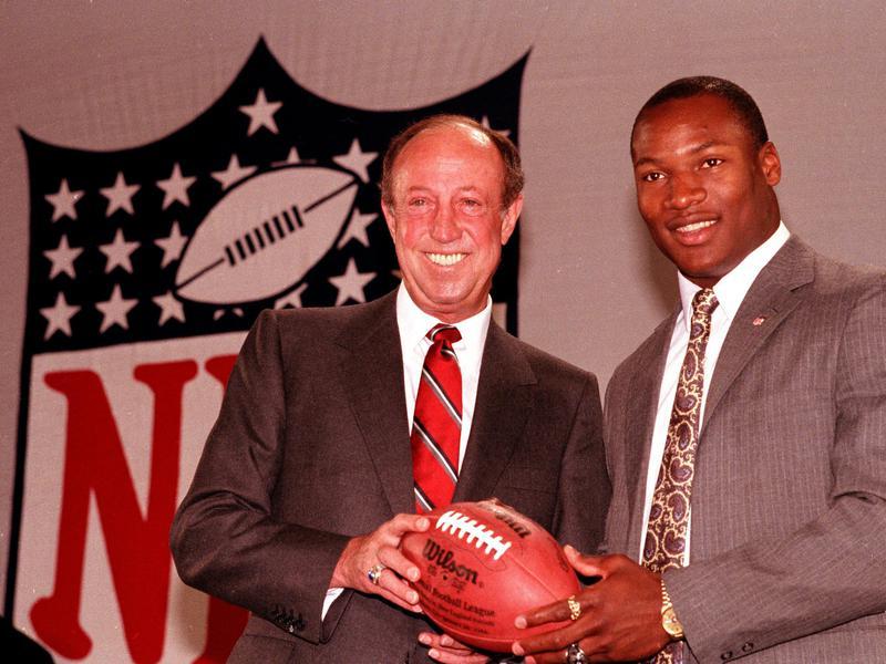 Pete Rozelle and Bo Jackson