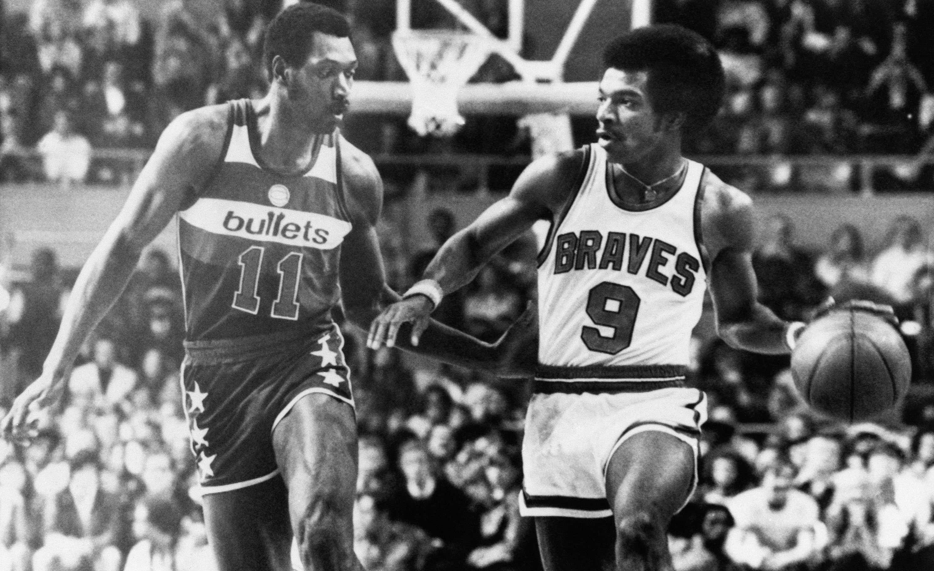 Elvin Hayes and Randy Smith