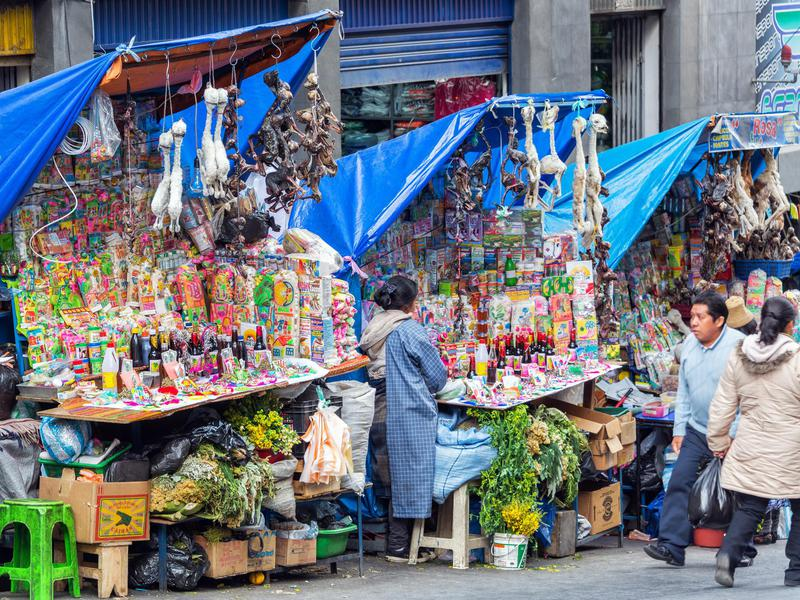 The Witches' Market, La Paz