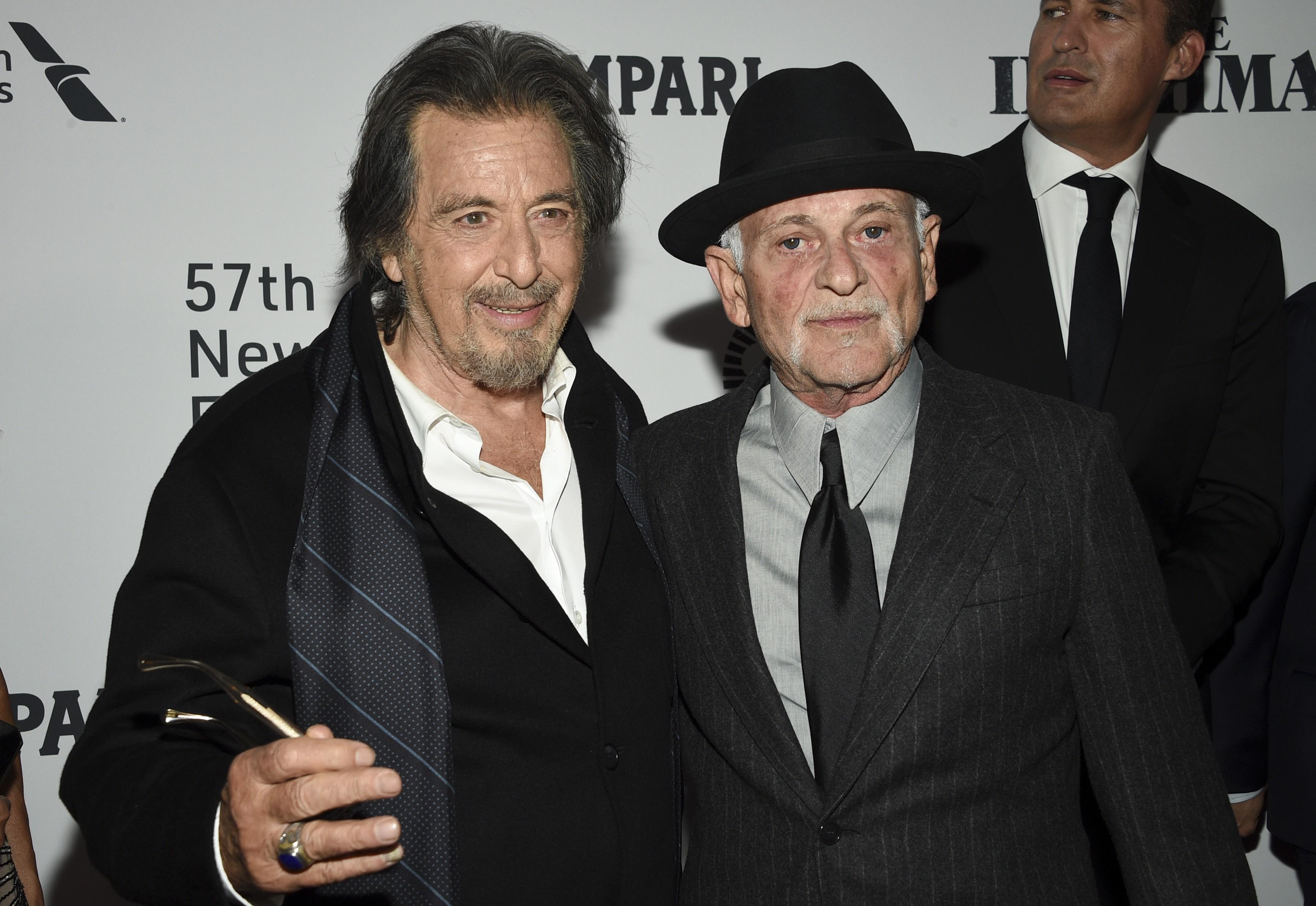 Al Pacino and Joe Pesci