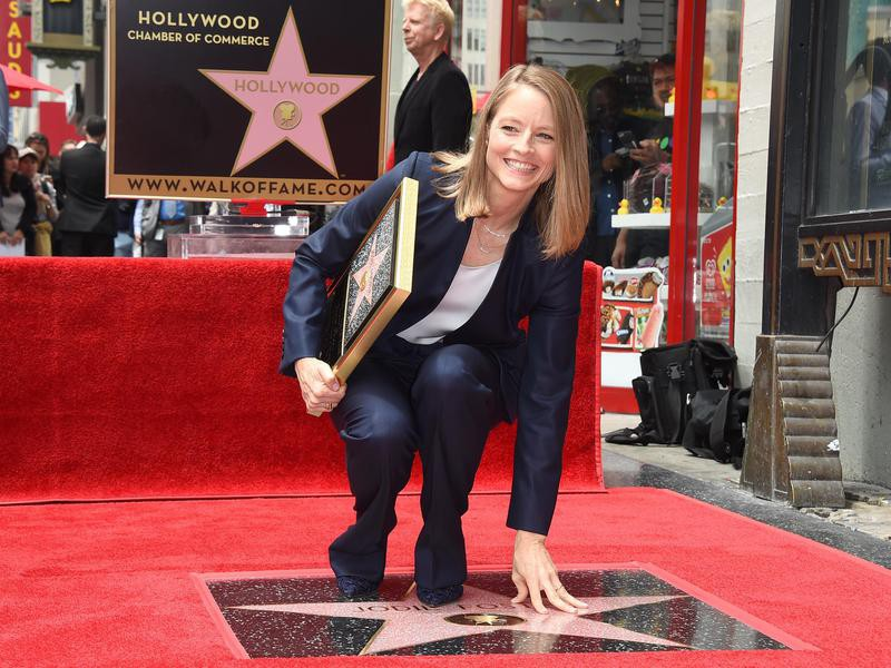 Jodie Foster Walk of Fame