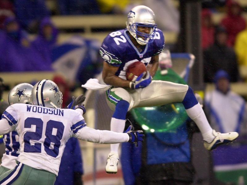 Seattle Seahawks wide receiver Darrell Jackson