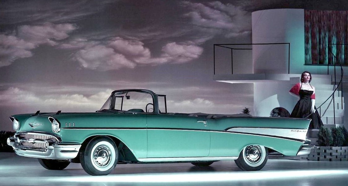 1957 Chevrolet Bel Air ad