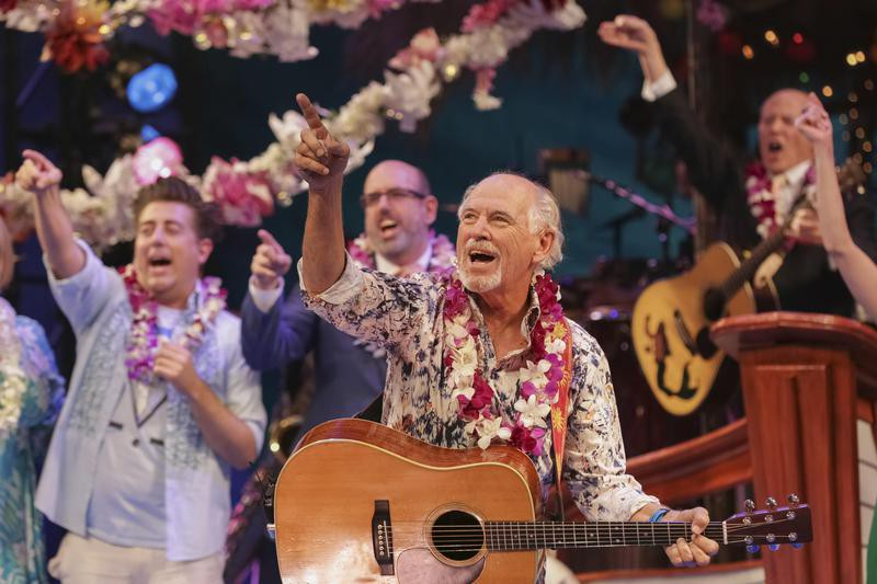 'Escape to Margaritaville' Broadway Opening Night