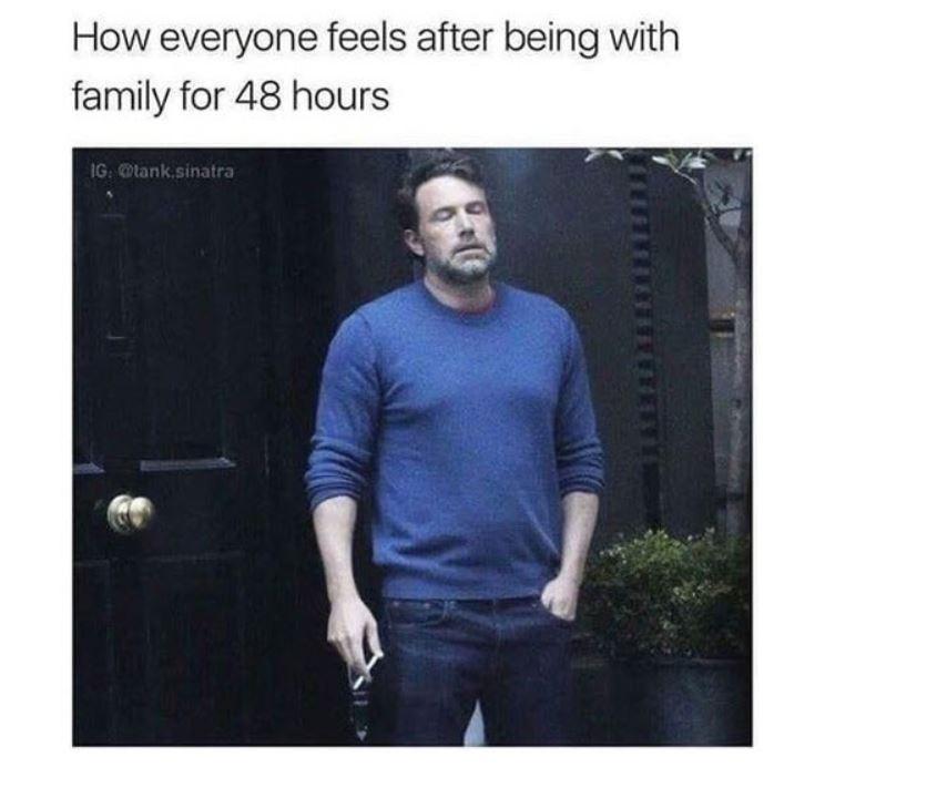 Ben Affleck smoking meme