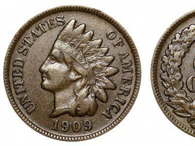 1909 S Indian Head Cent