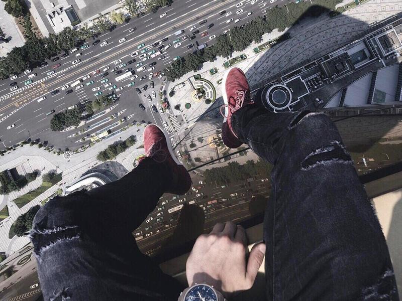 Rooftop Selfie